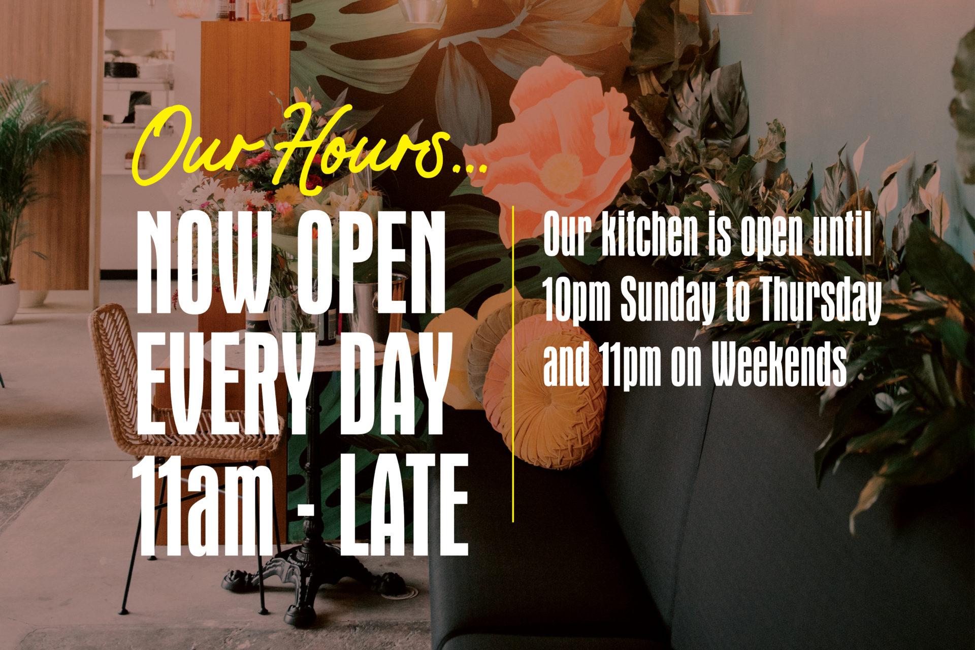 El Segundo Opening Hours